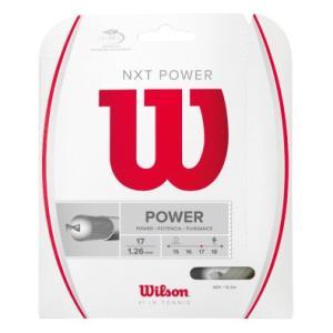 ウイルソン Wilson 硬式テニスストリング 「NXT POWER 17 WRZ941700」|sportsjapan