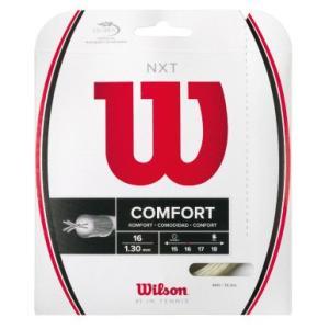 ウイルソン Wilson 硬式テニスストリング ガット 「NXT 16 WRZ942700」|sportsjapan