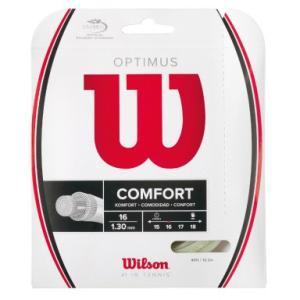 『即日出荷』「2014新製品」Wilson(ウイルソン)「OPTIMUS 16 WH WRZ947700」硬式テニスストリングKPI+|sportsjapan