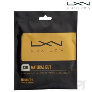 「2017新製品」LUXILON ルキシロン 「LUXILON NATURAL GUT 16 ナチュラルガット  1.30 WRZ949130」硬式テニスストリング ガット KPI+|sportsjapan