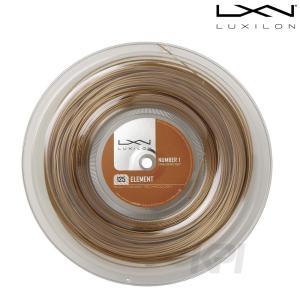 『即日出荷』LUXILON ルキシロン 「Element エレメント  1.25 200mロール WRZ990106」硬式テニスストリング ガット|sportsjapan