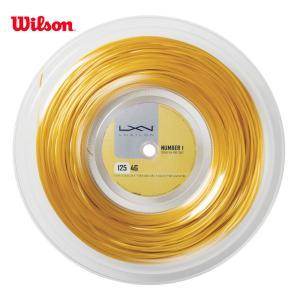 LUXILON ルキシロン 「LUXILON 4G 125 200mロール WRZ990141」硬式テニスストリング ガット|sportsjapan