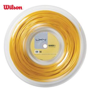 LUXILON ルキシロン 「LUXILON 4G 130 200mロール WRZ990142」硬式テニスストリング ガット|sportsjapan