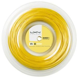 LUXILON(ルキシロン)「LUXILON 4G ROUGH 125 (4Gラフ) 200mロール WRZ990144」硬式テニスストリング(ガット)|sportsjapan