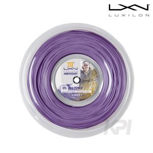 「2017新製品」LUXILON ルキシロン 「ALUPOWER 20th_Reel アルパワー20th 20thアニバーサリー 220mロール  WRZ990320」硬式テニスストリング ガット|sportsjapan