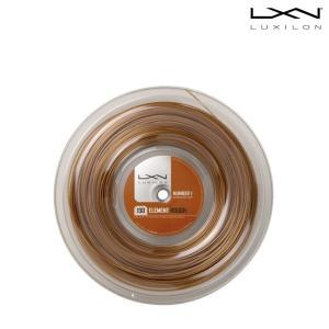 ルキシロン LUXILON テニスガット・ストリング  Element ROUGH 1.3 Reel エレメントラフ ロール WRZ990730|sportsjapan