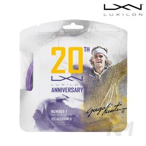 『即日出荷』「2017新製品」LUXILON ルキシロン 「ALUPOWER 20th Anniversary アルパワー20thアニバーサリー  WRZ991320」硬式テニスストリング ガット|sportsjapan