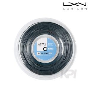 LUXILON ルキシロン 「ALUPOWER SPIN_Reel アルパワースピン 220mロール  WRZ993200」硬式テニスストリング ガット 『即日出荷』|sportsjapan