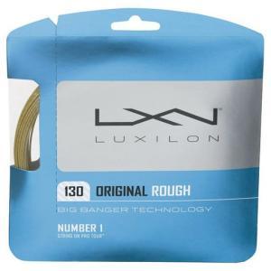 『即日出荷』 LUXILON ルキシロン 「ORIGINAL ROUGH 130 オリジナルラフ130 WRZ9963」硬式テニスストリング ガット|sportsjapan