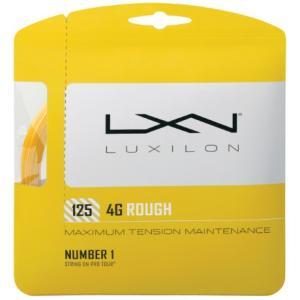 LUXILON(ルキシロン)「LUXILON 4G ROUGH 125 WRZ997114」硬式テニスストリング(ガット)KPI+|sportsjapan
