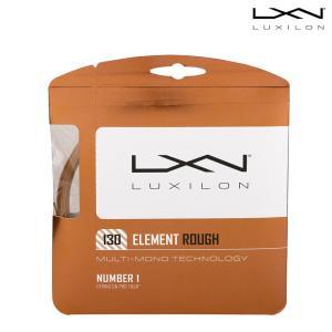 ルキシロン LUXILON テニスガット・ストリング  Element ROUGH 1.30 エレメントラフ WRZ997130『即日出荷』[ネコポス可]|sportsjapan