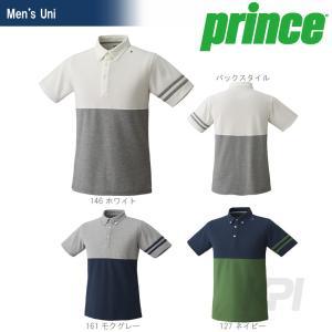 『即日出荷』Prince(プリンス)「UNI ボタンダウンシャツ WU5105」ウェア「SS」KPI+|sportsjapan