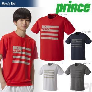 テニスウェア ユニセックス プリンス Prince Tシャツ WU7020 2017FW 2017新製品|sportsjapan