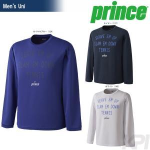 プリンス Prince テニスウェア Uni ロングスリーブシャツ WU7026 2017FW 「2017新製品」|sportsjapan