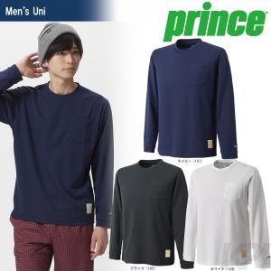 プリンス Prince テニスウェア Uni ロングスリーブシャツ WU7029 2017FW 「2017新製品」|sportsjapan