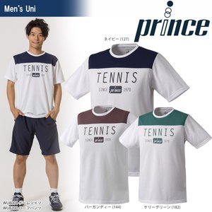 テニスウェア ユニセックス プリンス Prince Tシャツ WU8004 2018SS 即日出荷|sportsjapan