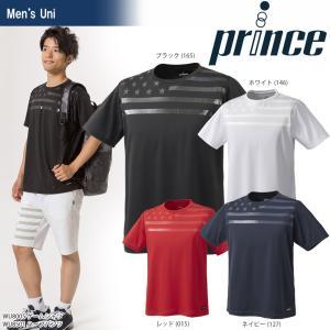 テニスウェア ユニセックス プリンス Prince ゲームシャツ WU8005 2018SS 即日出荷|sportsjapan