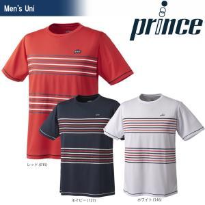 テニスウェア ユニセックス プリンス Prince ゲームシャツ WU8007 2018SS 即日出荷|sportsjapan