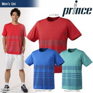 プリンス Prince テニスウェア ユニセックス ゲームシャツ WU8012 2018SS『即日出荷』|sportsjapan