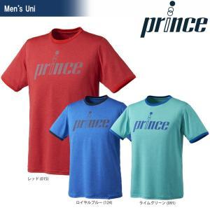 プリンス Prince テニスウェア ユニセックス Tシャツ WU8013 2018SS『即日出荷』|sportsjapan