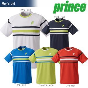 テニスウェア ユニセックス プリンス Prince ゲームシャツ WU8017 2018SS 即日出荷|sportsjapan
