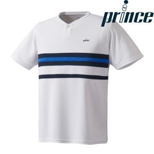 プリンス Prince テニスウェア ユニセックス ゲームシャツ WU8020 2018FW 『即日出荷』|sportsjapan