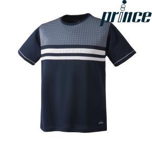 プリンス Prince テニスウェア ユニセックス ゲームシャツ WU8034 2018FW|sportsjapan