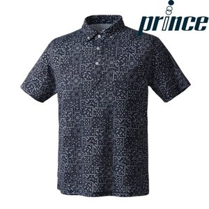 プリンス Prince テニスウェア ユニセックス ボタンダウンシャツ WU8111 2018FW|sportsjapan