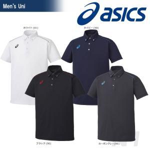 asics アシックス 「ボタンダウンシャツ XA6167」スポーツウェア「SS」「KPI」|sportsjapan