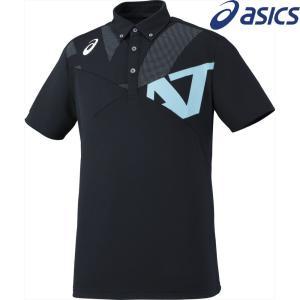 アシックス asics マルチSPウェア ユニセックス A77ボタンダウンシャツ XA6227-9041 2018SS|sportsjapan