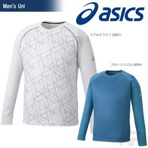 『即日出荷』asics アシックス 「Uni CLUB GRAPHIC SS TOP 長袖Tシャツ XE5001」テニスウェア「2016FW」|sportsjapan
