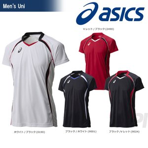 asics(アシックス)「ゲームシヤツHS XW1316」バレーボールウェアKPI+ sportsjapan