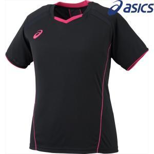 アシックス asics バレーボールウェア レディース W'Sプラクティスショートスリーブトップ XW6232-9031 2018SS|sportsjapan