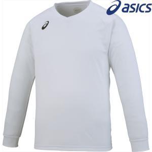 アシックス asics バレーボールウェア ユニセックス プラクティスロングスリーブトップ XW6747-01 2018SS|sportsjapan
