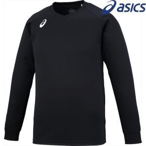 アシックス asics バレーボールウェア ユニセックス プラクティスロングスリーブトップ XW6747-9001 2018SS|sportsjapan