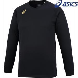 アシックス asics バレーボールウェア ユニセックス プラクティスロングスリーブトップ XW6747-9068 2018SS|sportsjapan