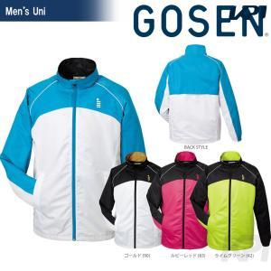 GOSEN ゴーセン 「UNI ユニ ウィンドウォーマージャケット 裏起毛  Y1502」テニスウェア「FW」 sportsjapan