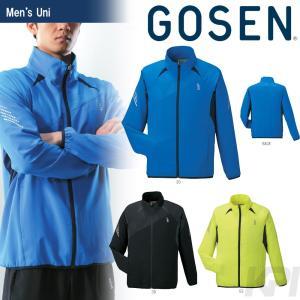 テニスウェア ユニセックス ゴーセン GOSEN ライトウィンドジャケット Y1600 2016SS テニコレ掲載 2017モデル|sportsjapan