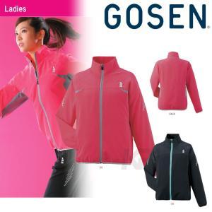 「2017モデル」GOSEN(ゴーセン)「レディースライトウィンドジャケット Y1601」テニスウェア「2016SS」「テニコレ掲載」KPI+|sportsjapan