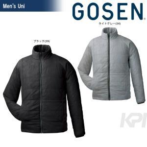 GOSEN ゴーセン 「UNI アイダーウォームスジャケット Y1612」テニスウェア「FW」 sportsjapan