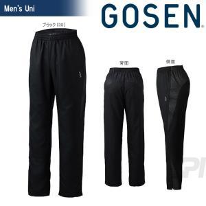 GOSEN ゴーセン 「UNI ライトウインドパンツ Y1702」テニスウェア「2017SS」|sportsjapan