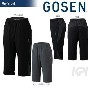 「2017新製品」GOSEN ゴーセン 「UNI ライトウインドカプリ Y1704」テニスウェア「2017SS」|sportsjapan