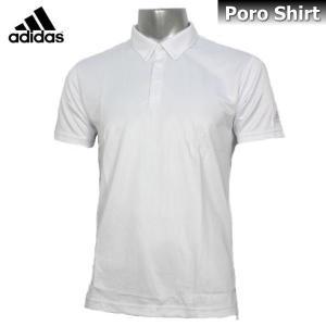 2017 ポロシャツ メンズ adidas アディダス Climalite ポロシャツ 半袖 DJP80 BR1069 ホワイト|sportsjima