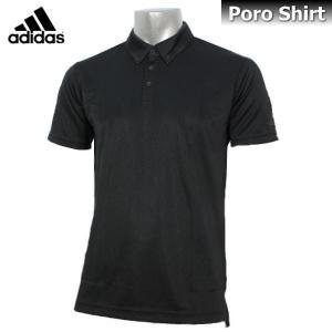 2017 ポロシャツ メンズ adidas アディダス Climalite ポロシャツ 半袖 DJP80 BR1073 ブラック|sportsjima