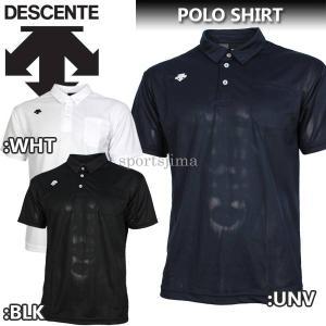 デサント DESCENTE トレーニングウェア  ユニセックス/メンズ ポロシャツ 半袖 DTM46...