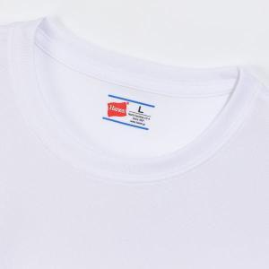 ヘインズ Tシャツ メンズ トレーニングウェア 半袖 シャツ 部活魂 2枚組 HM1-G704 吸汗速乾 ゆうパケット可 スポーツ スポーツウェア ゆうパケット可|sportsjima|03