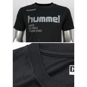ヒュンメル Tシャツ 上下 メンズ トレーニングウェア サッカー 半袖 + ハーフ HAP4129 HAP2065 2カラー 吸汗速乾 上下セット|sportsjima|05