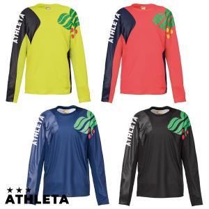 激安SALE 長袖カラープラクティスシャツ ATHLETA-アスレタ フットサルウェア/サッカーウェア|sportskym