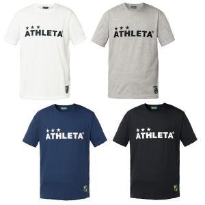 夏物セール 半袖カフェブラロゴTシャツ ATHLETA-アスレタ フットサルウェア/サッカーウェア|sportskym