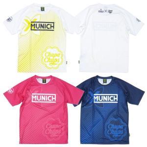 MUNICH-ムニック 半袖チュッパチャプスロゴライトプラクティスシャツ/プラシャツ フットサルウェア/サッカーウェア sportskym